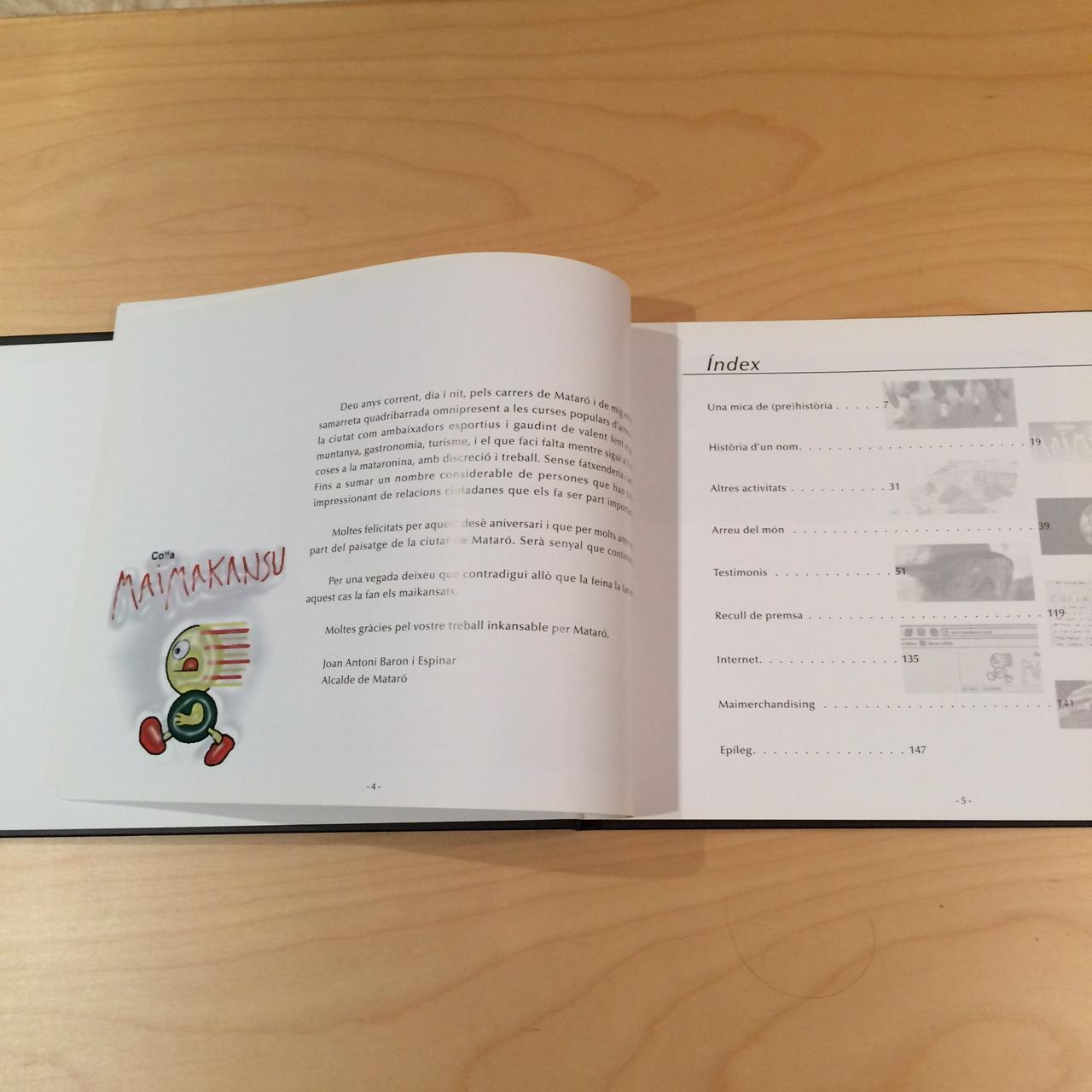 el llibre maimakansu 2
