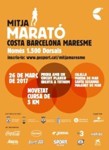 cartell MITJA MARESME 2017