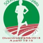 29/06/2018 Cursa Popular de 5000 al Estadi