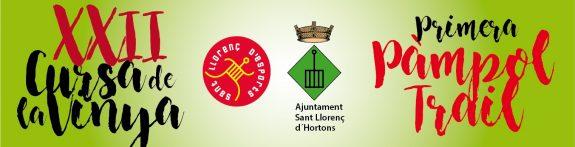 2/09/2018 Cursa de la Vinya de Sant Llorenç d'Hortons 10 km