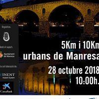 28/10/2018 Cursa urbana de Manresa 10 i 5 km